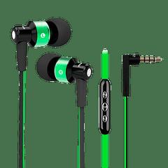Fone-de-ouvido-com-fio-intra-auricular-com-controle-e-microfone---Cor-verde
