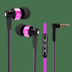 Fone-de-ouvido-com-fio-intra-auricular-com-controle-e-microfone---Cor-rosa