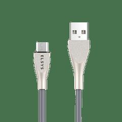 Cabo-de-dados-USB-Fast-Data-Android---Cor-Prata