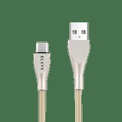 Cabo-de-dados-USB-Fast-Data-Android---Cor-Dourado