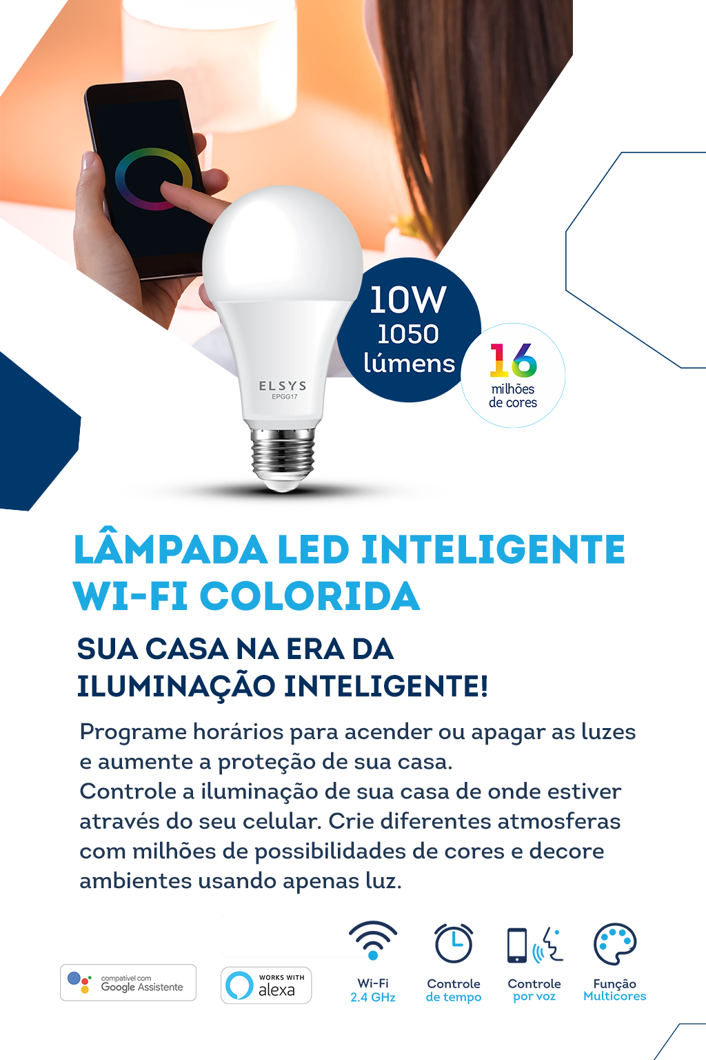 Banner TV Mobile - 06 (Lampada inteligente)