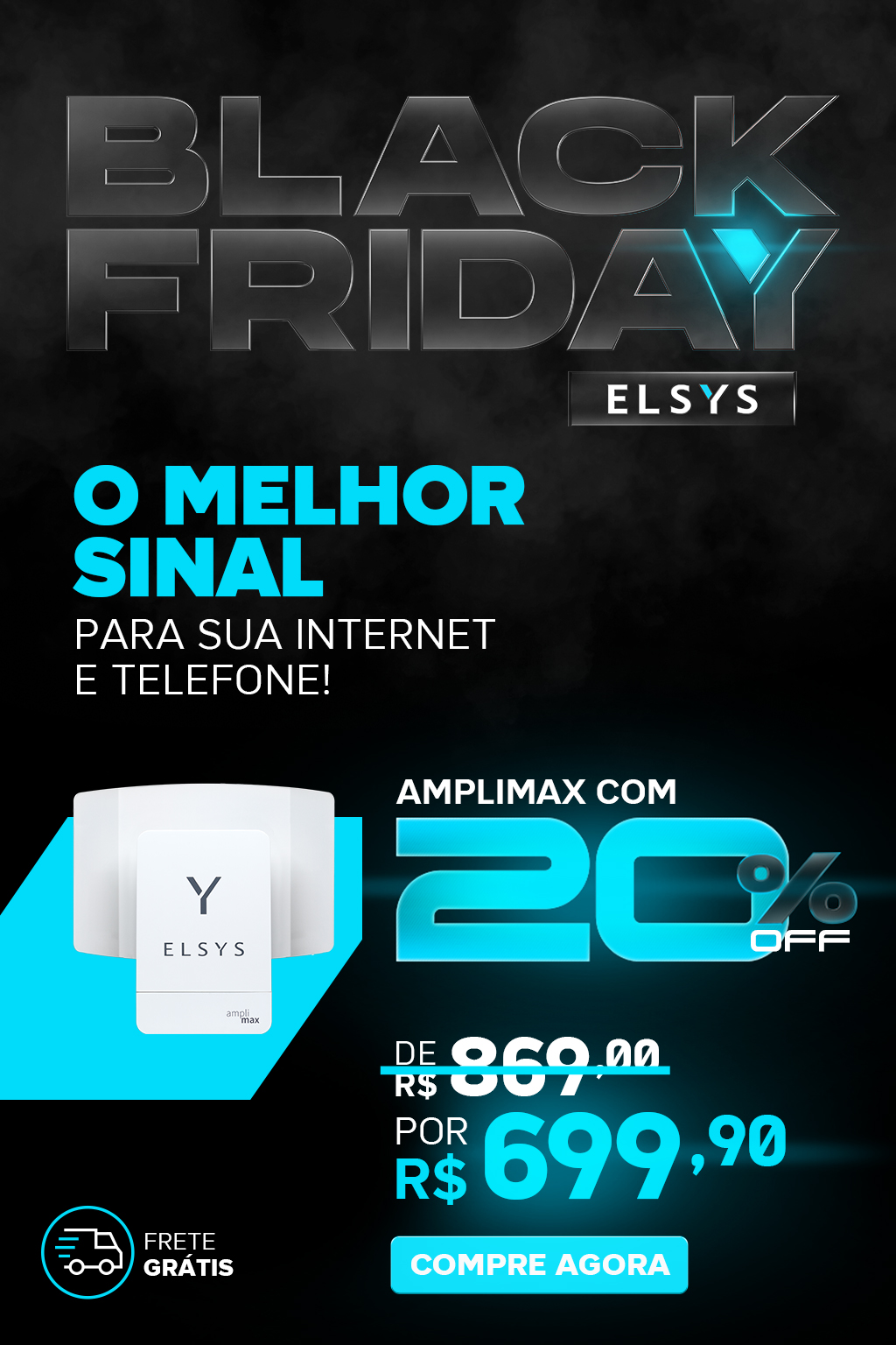 BLACK FRIDAY ELSYS - AMPLIMAX