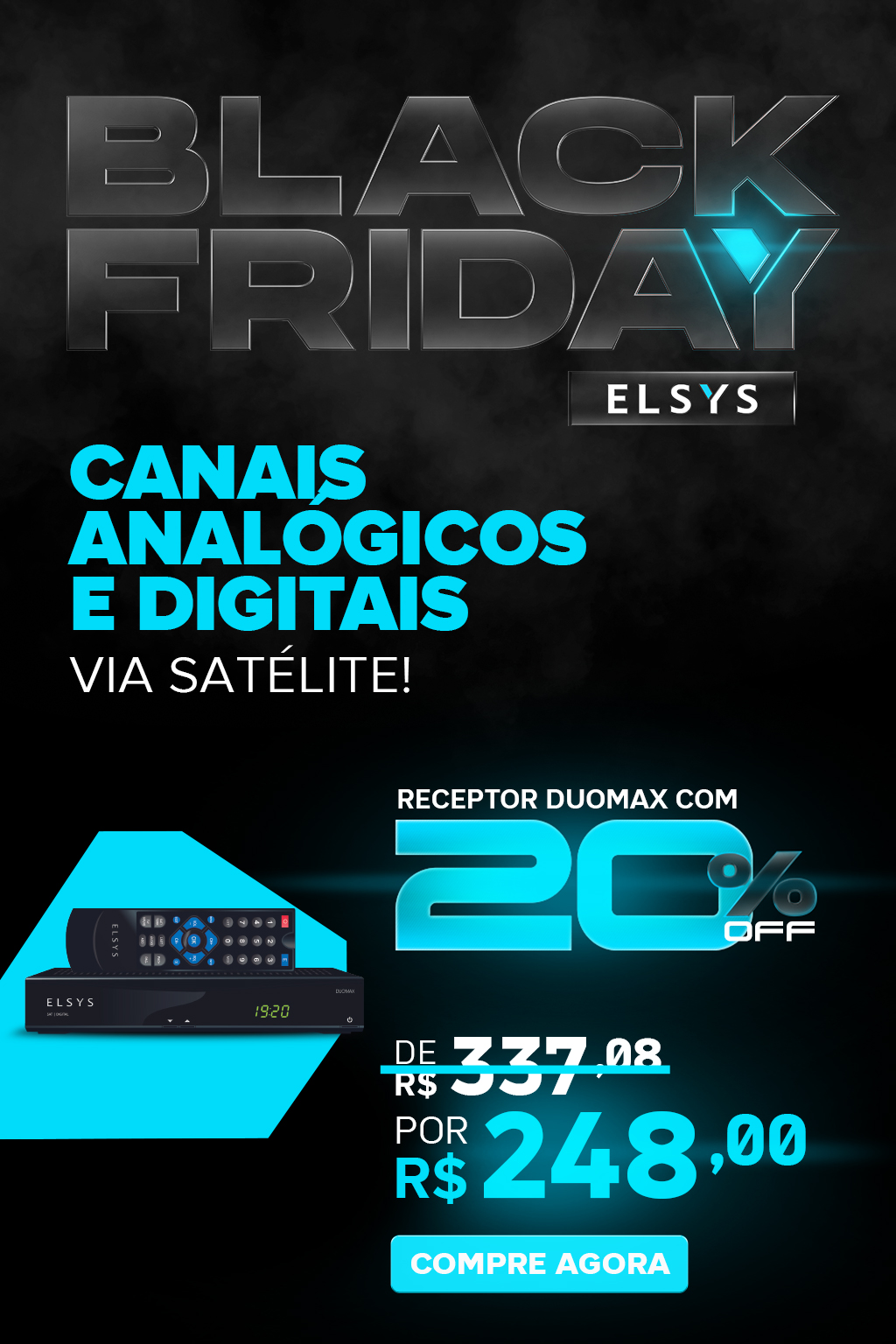 BLACK FRIDAY ELSYS - DUOMAX
