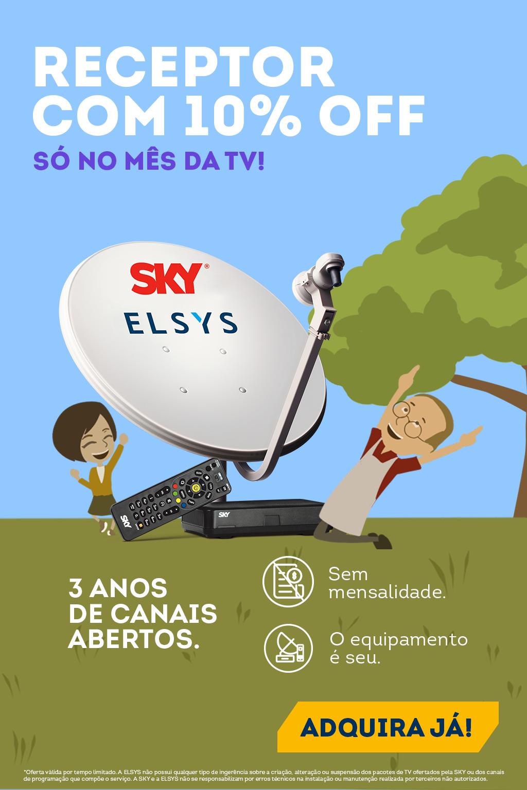 Mês da TV - Sky